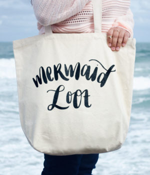 Mermaid Loot Tote Bag