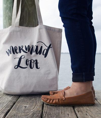 Mermaid Loot Tote Bag