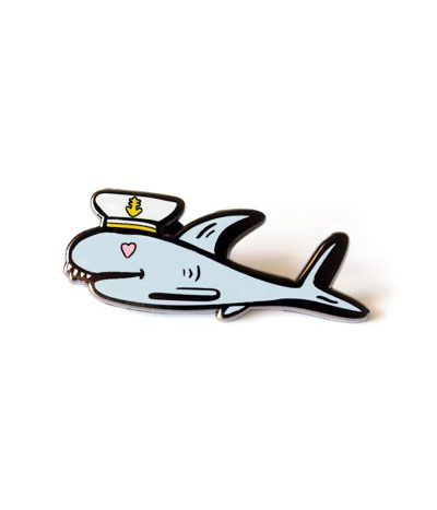 Sailor Shark Pin
