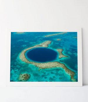 Great Belize Blue Hole Photograph