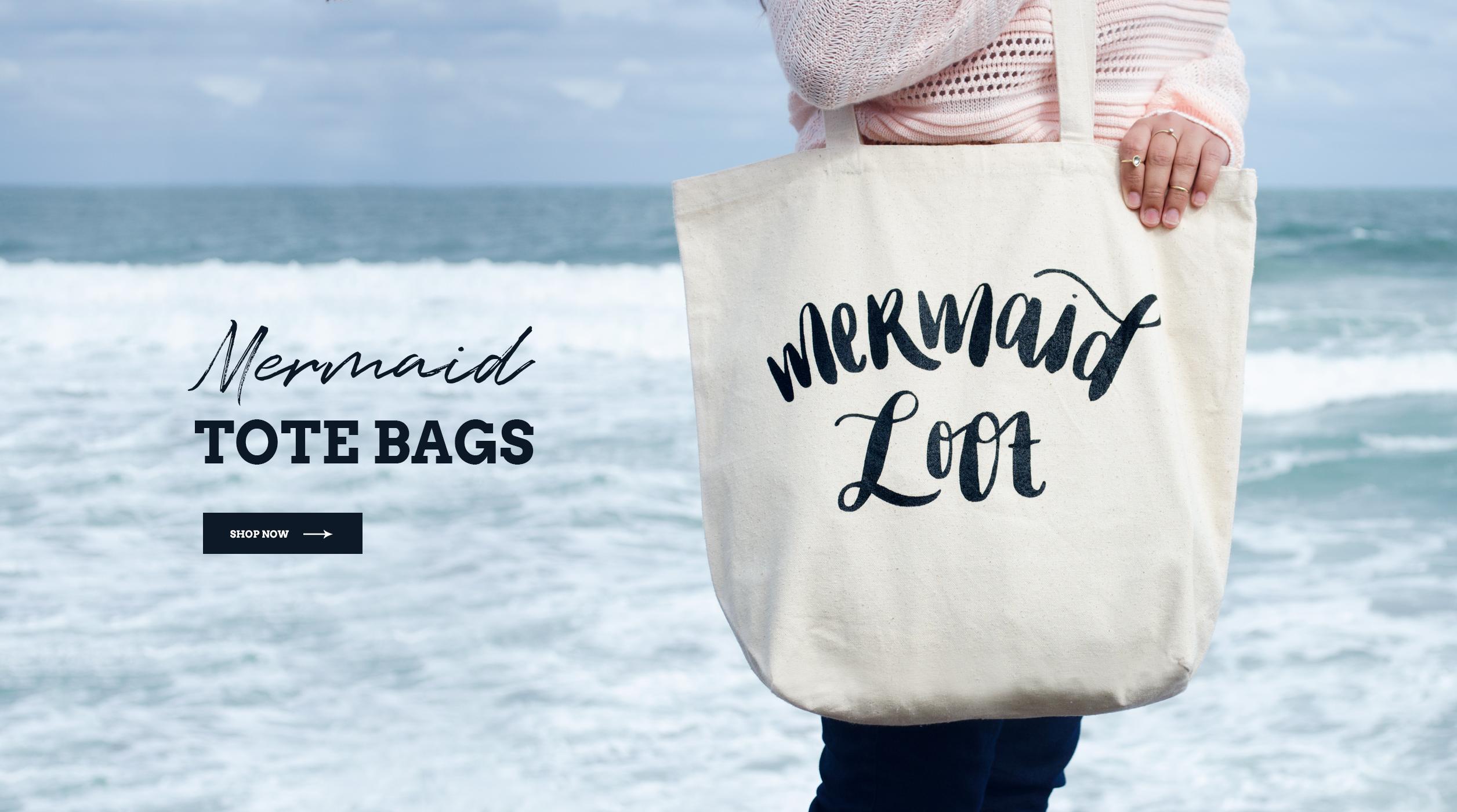 Salty Kai Mermaid Loot Tote Bag