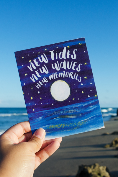 New Tides Stationery Card