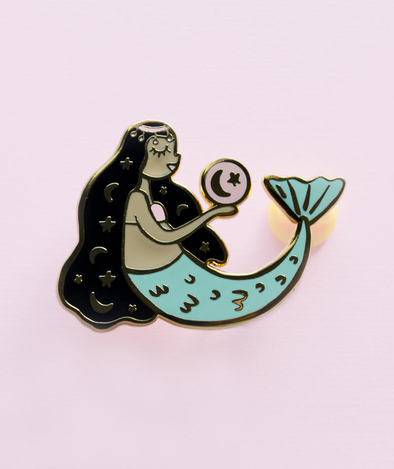 Mermaid Magic Enamel Pin