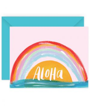 Aloha Stationery Card