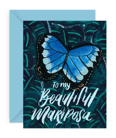 Beautiful Mariposa Stationery Card