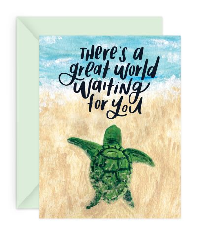 Great World Stationery Card