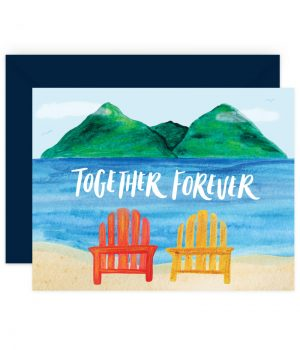 Together Forever Stationery Card