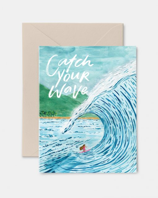 Catch Your Wave Greeting Card