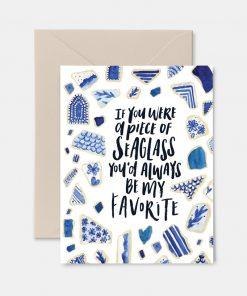 Favorite Seaglass Greeting Card