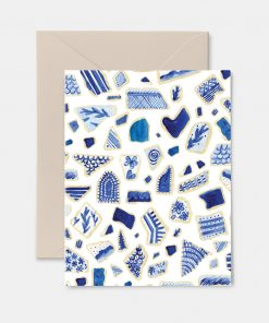 Sea Pottery Greeting Card