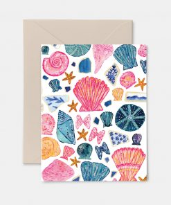Sea Treasures Greeting Card