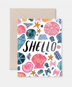 Shello Greeting Card