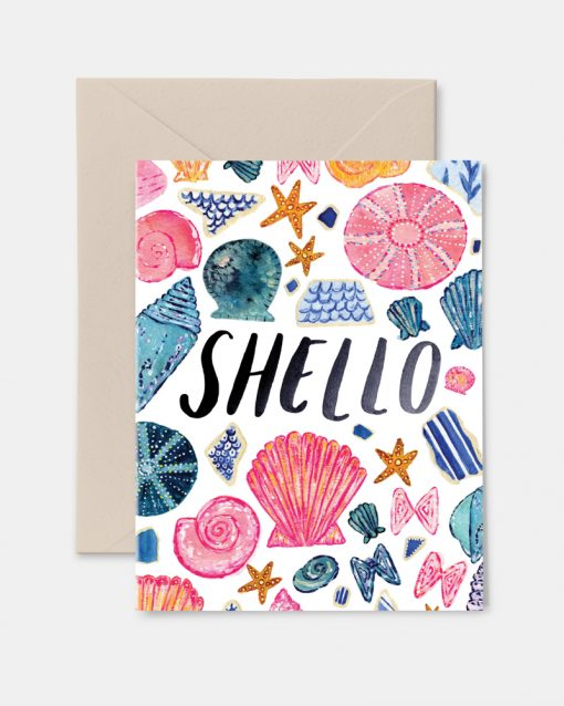 Shello Greeting Card