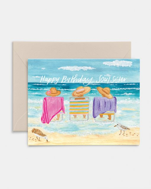 Soul Sister Greeting Card