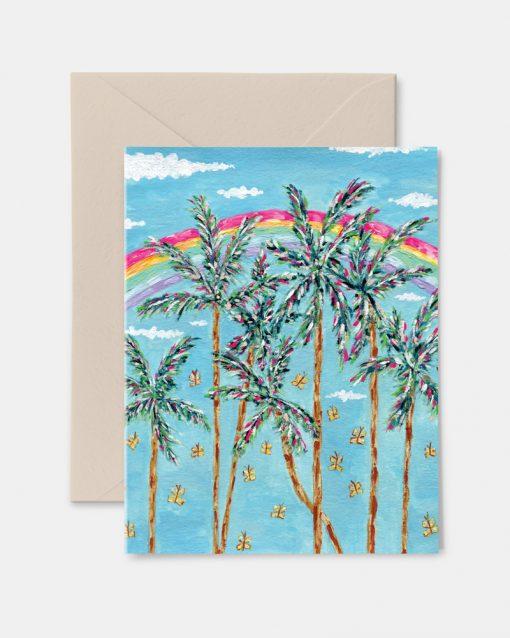Sunshine & Rainbows Greeting Card