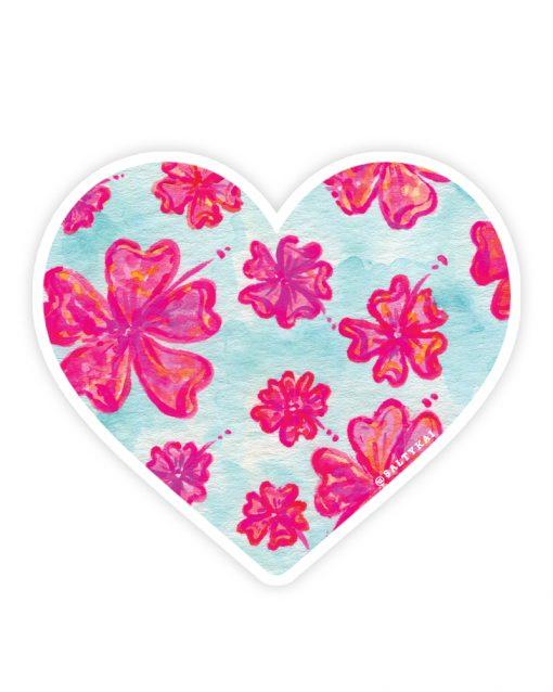 Flower Paradise Sticker
