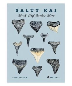 Shark Teeth Sticker Sheet